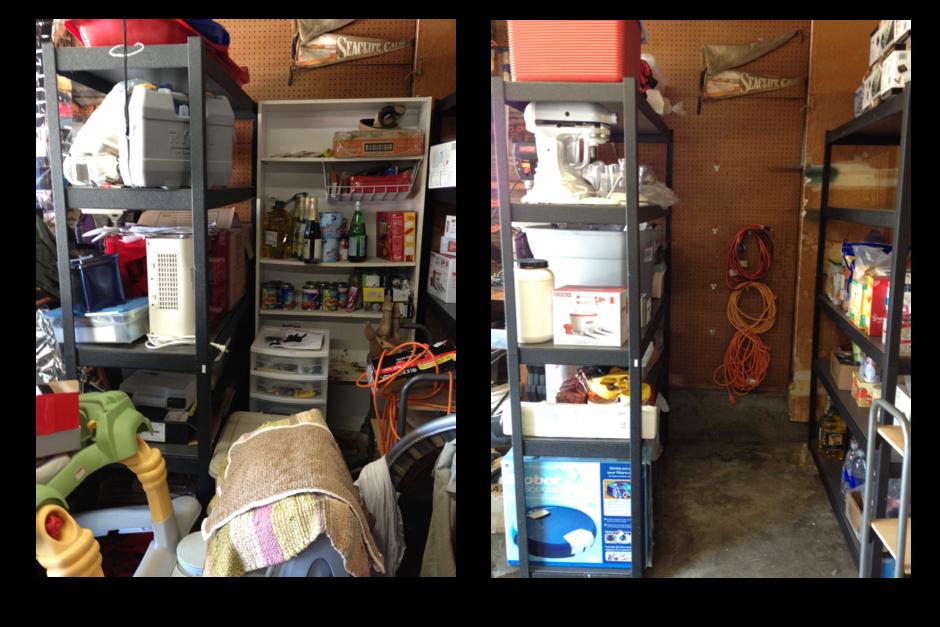Garage Before After
